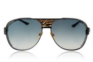 Black / Gold Zebra