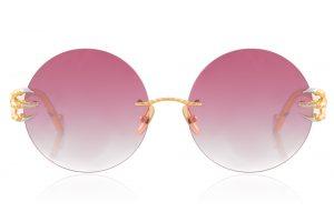 Gold (Pink Lens)