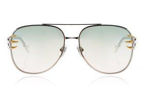 White Gold Blush Lens